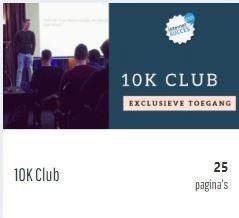 10k club van Jacko Meijaard