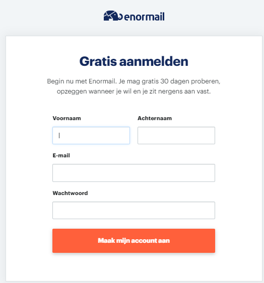 enormail e-mailmarketing software