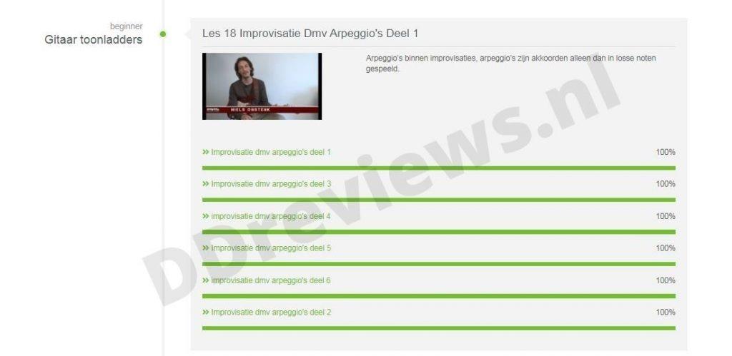 Improvisatie dmv arpeggio's deel 1