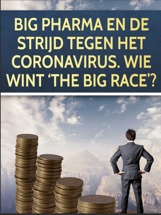 Big Pharma en de strijd tegen het coronavirus
