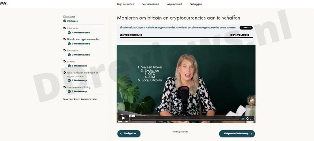 Bitoin en cryptocurrencies Madelon Vos