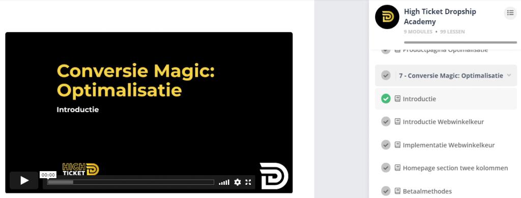 Conversie Magic Optimalisatie