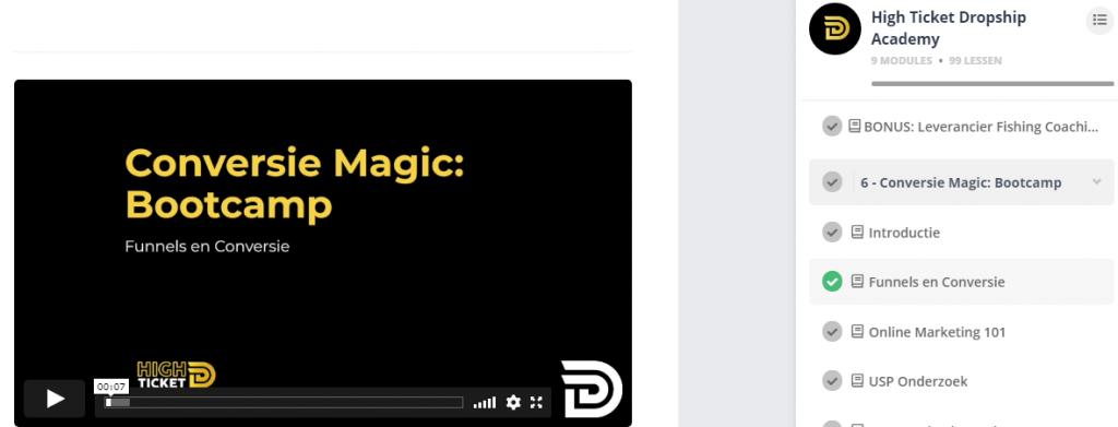 Coversie Magic Bootcamp