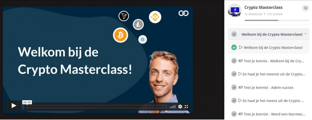 Welkom bij de Crypto Masterclass