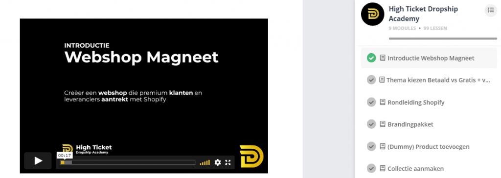 webshop magneet