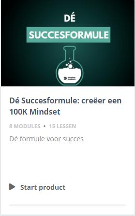 De succesformule bonus
