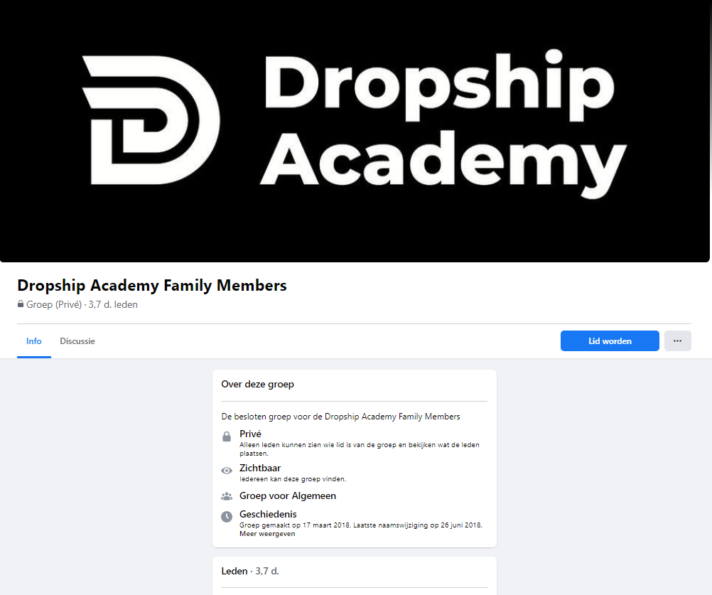 Dropship Academy Community