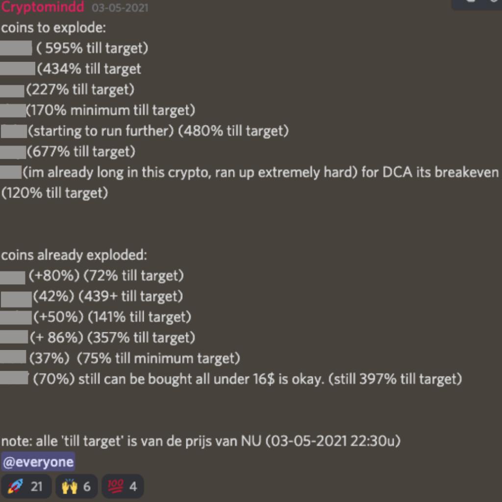 Trading signalen crypto
