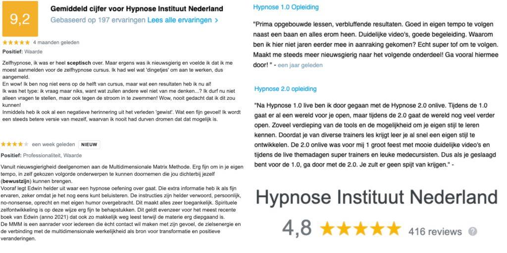 Hypnose Instituut Nederland ervaringen