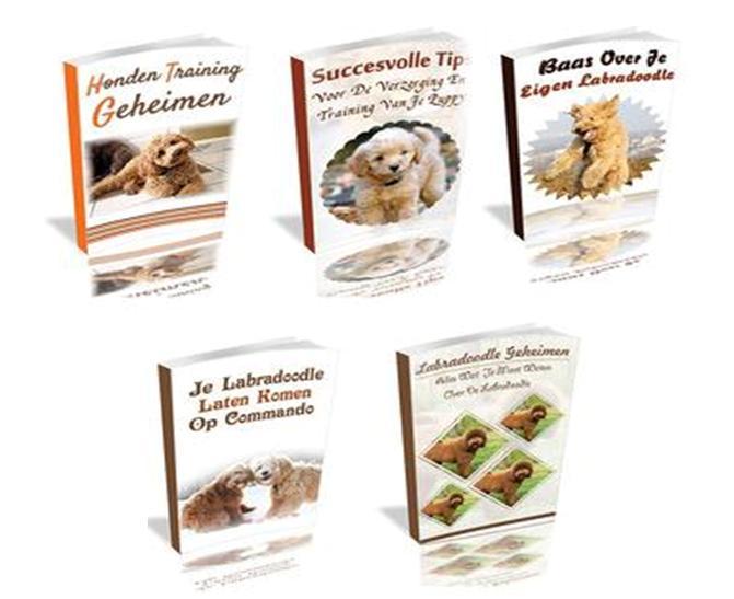Labradoodle-gratis bonus honden e-boek